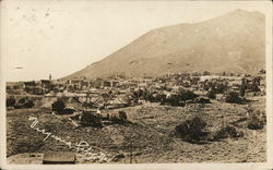 View of Virginia City Postcard