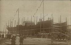 """Prince Leopold"" Being Built"