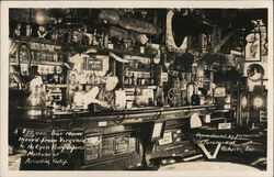 A $50,000 Bar Room Moved From Virginia to the Lyon Pony Express Museum Postcard