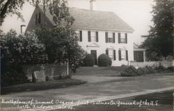 Birthplace of Samuel Osgood, First Postmaster General of the U.S.
