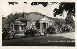 The Library, Trudeau Sanatorium