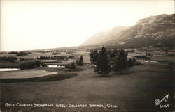 Golf Course Broadmoor Hotel