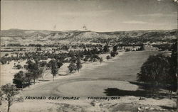 View of Golf Course Postcard