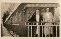 Portrait of Two Women - Californian Sunset Limited