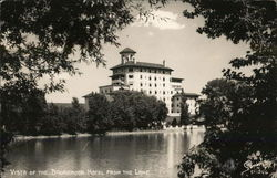 Vista of the Broadmoor Hotel From Lake