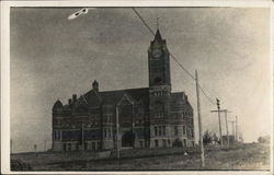 Court House Building Postcard