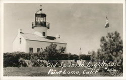 Old Spanish Lighthouse Postcard