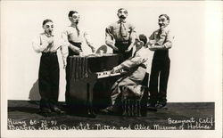 Barber Shop Quartet - Nettie and Alice Museum of Hobbies