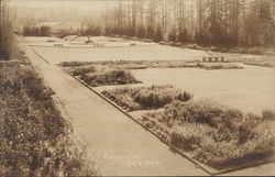 Formal Garden, University of Washington