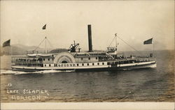 "Lake Steamer ""Horicon"""