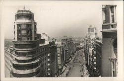 Gran Via Street and Capitol