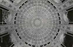 Interior View of Dome, Baha'i House of Worship