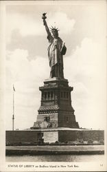Statue of Liberty, Bedloes Island