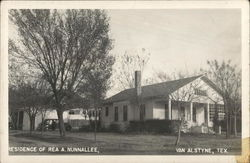 Residence of Rea A. Nunnallee