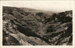 View of Wamea Canyon