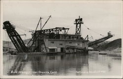 Gold Dredge Near Oroville