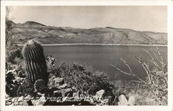 Payot Hole Mt. View of San Carlos from U.S. Postcard