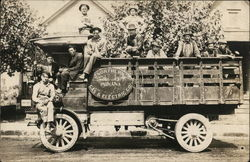 Men Aboard Truck for Northern Indiana Gas & Electric Co.