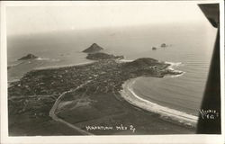 Aerial View of Mazatlan Postcard