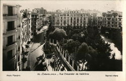 Casablanca - Rue Chevandier-de-Valdrome