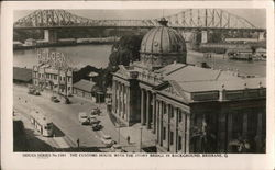 Customs House With the Story Bridge in Background, Queensland