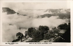 Mists in the Valley, New South Wales Postcard