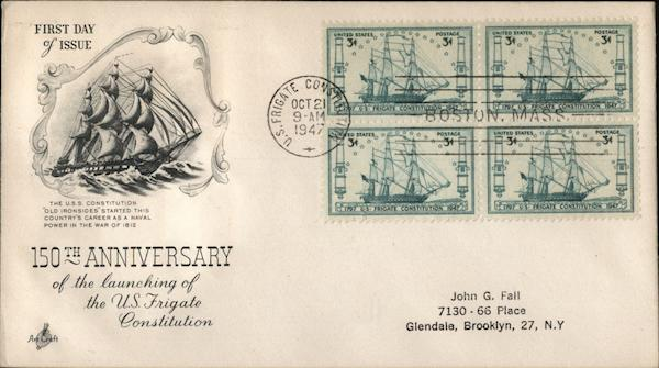 150th Anniversary of the launching of the U.S. Frigate Constitution