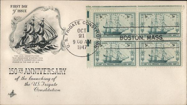 105th Anniversary of the Launching of the US Frigate Constitution