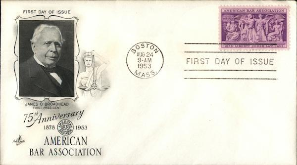 75th Anniversary American Bar Association First Day Covers