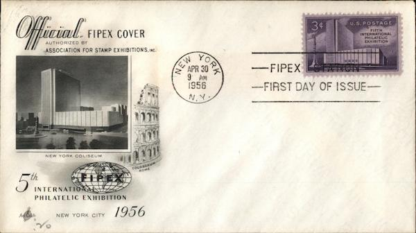5th International Philatelic Exhibition 1956 First Day Covers