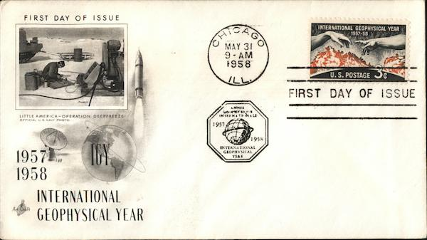 IGY International Geophysical Year 1957 - 1958 First Day Covers