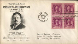 Famous Americans Series Composers Victor Herbert 1858-1924