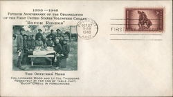 Rough Riders - The Officers' Mess First Day Cover