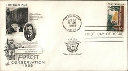 Forest Conservation 1958 First Day Cover