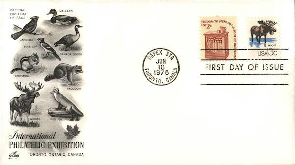 International Philatelic Exhibition First Day Covers