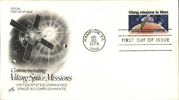 Commemorating Viking Space Missions United States unmanned Space Accomplishments