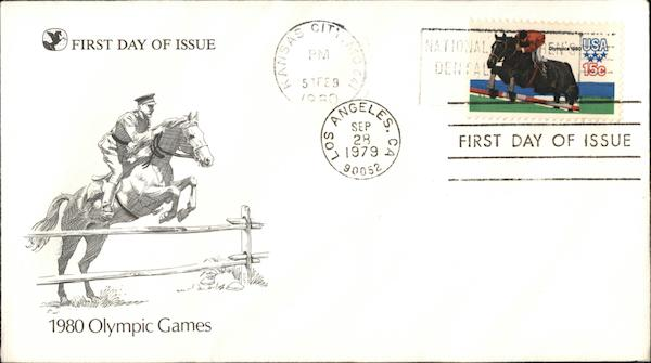 1980 Olympic Games First Day Covers