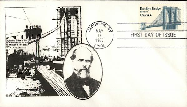 Brooklyn Bridge 1883 - 1983 First Day Covers