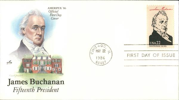 James Buchanan First Day Covers