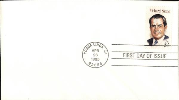 Richard Nixon First Day Covers