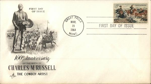 100th Anniversary of the Birth of Charles M. Russell, The Cowboy Artist