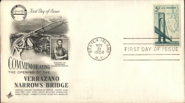 Commemorating the Opening of the Verrazano Narrows Bridge