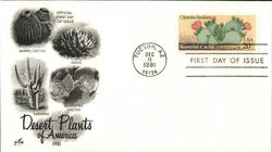 Desert Plants of America 1981 First Day Cover