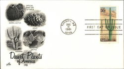 Desert Plants - 1981 First Day Cover