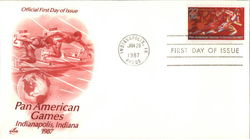 Pan American Games First Day Cover
