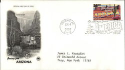 Greetings From Arizona First Day Cover