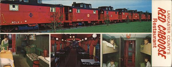Red Caboose Restaurant- Motel Strasburg Pennsylvania