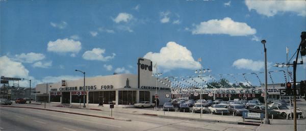 Crenshaw Motors Ford Dealership Los Angeles California