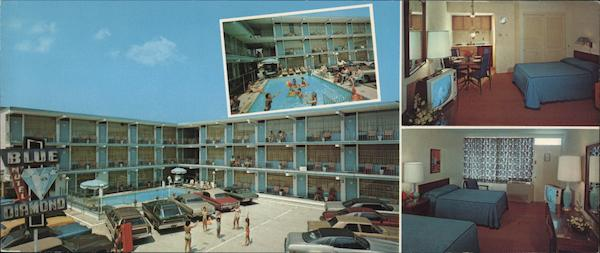 Blue Diamond Motel Wildwood-by-the-Sea New Jersey