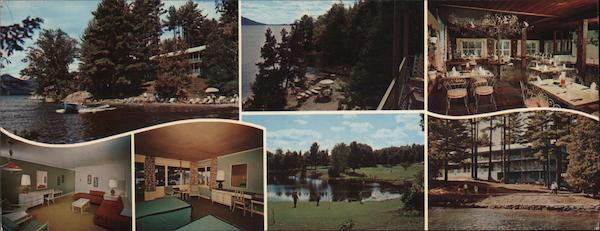 Lagoon Manor Deluxe Waterfront Resort Motel Bolton Landing New York
